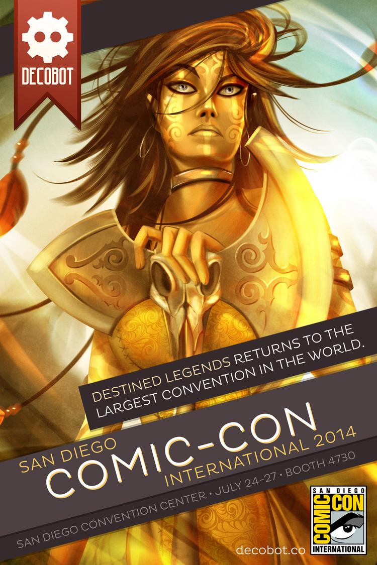 Destined Legends at San Diego Comic-Con International 2013