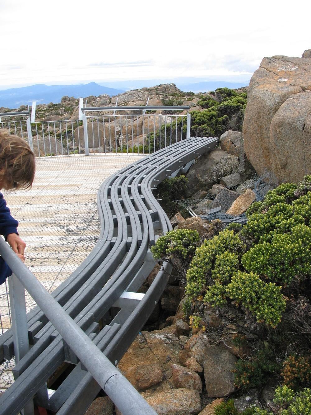 Bench Seats Curved Mt Wellington.JPG