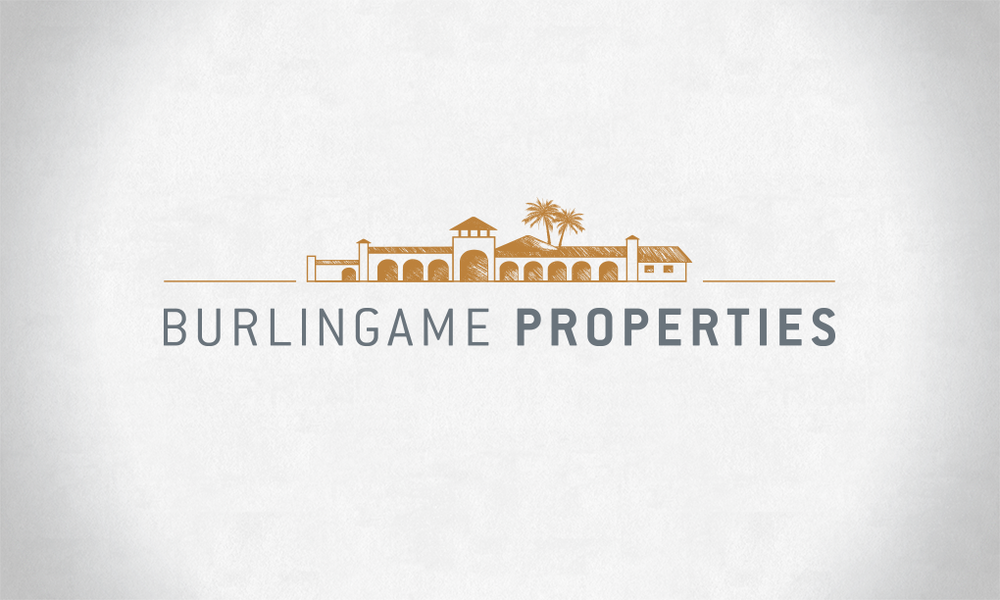 Logo design for a luxury real estate company in the San Francisco Bay Area
