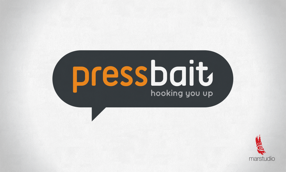 Logo design for a website dedicated to directly connecting the press with the public