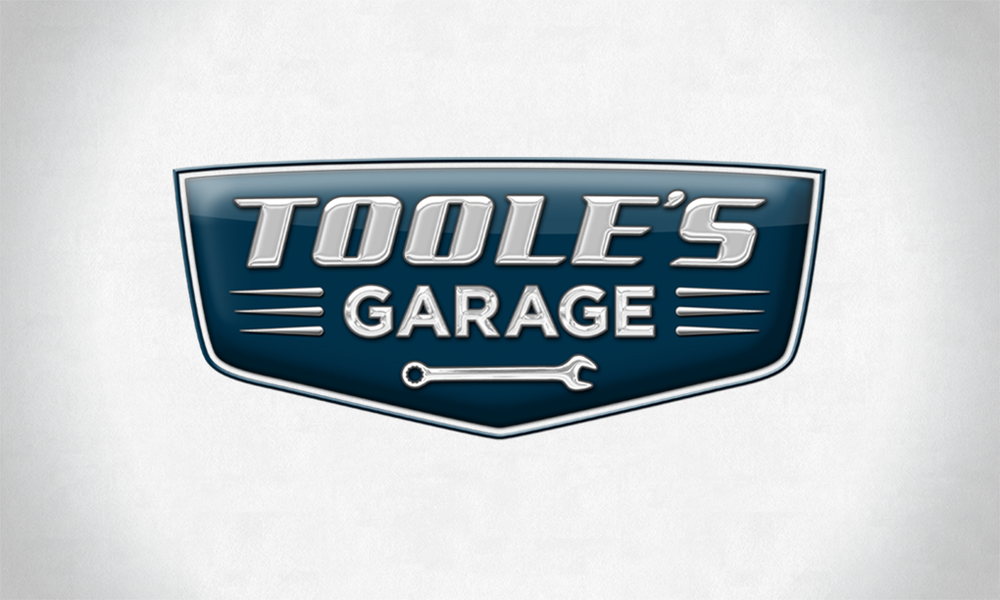 Logo design for a privately owned car garage in northern California