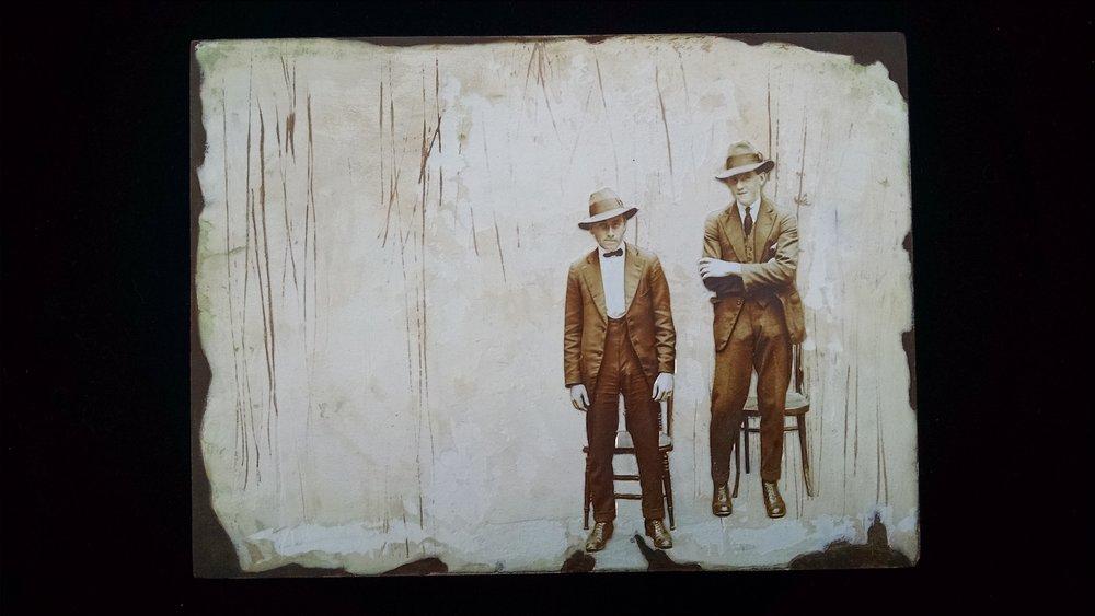 Mugshot Series, John & Oswald  SOLD