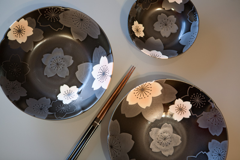 7-Piece Japanese Tableset