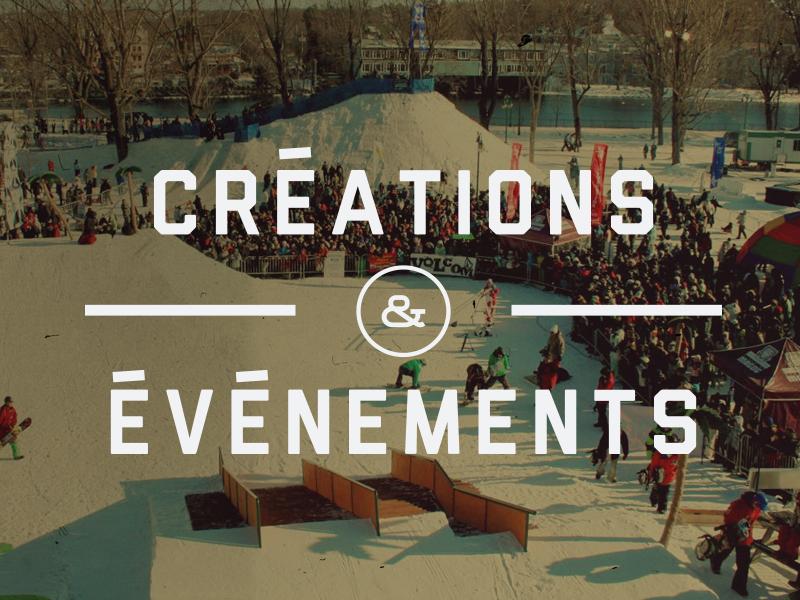 La division spécialisée en conception d'événement et marketing. Cliquez sur l'image pour visionner la liste de services
