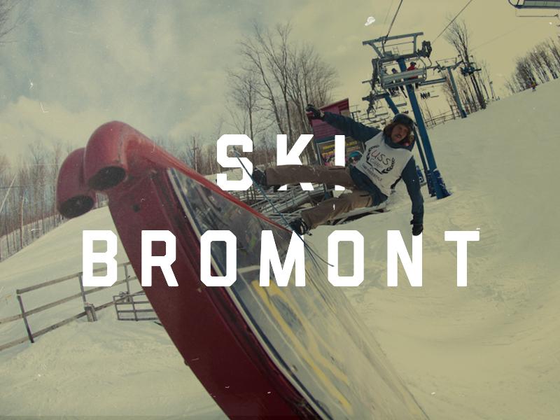 Conception, construction et entretien du parc à neige de  Ski Bromont , 2010 - 2013