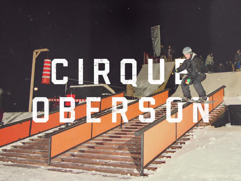 Conception et construction de trois éditions d'un événement ski/snow au coeur du Quartier DIX30 pour la boutique Oberson, 2010 - 2012.