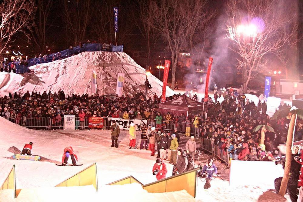 La foule était nombreuse le soir lors de la grande finale