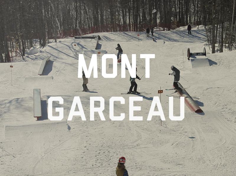 Conception et construction du parc à neige du Mont Garceau, saison 2014-2015. Voyez le Plan 3D du parc ici Pour voir le parc en action : Cliquez ici pour voir le vidéo