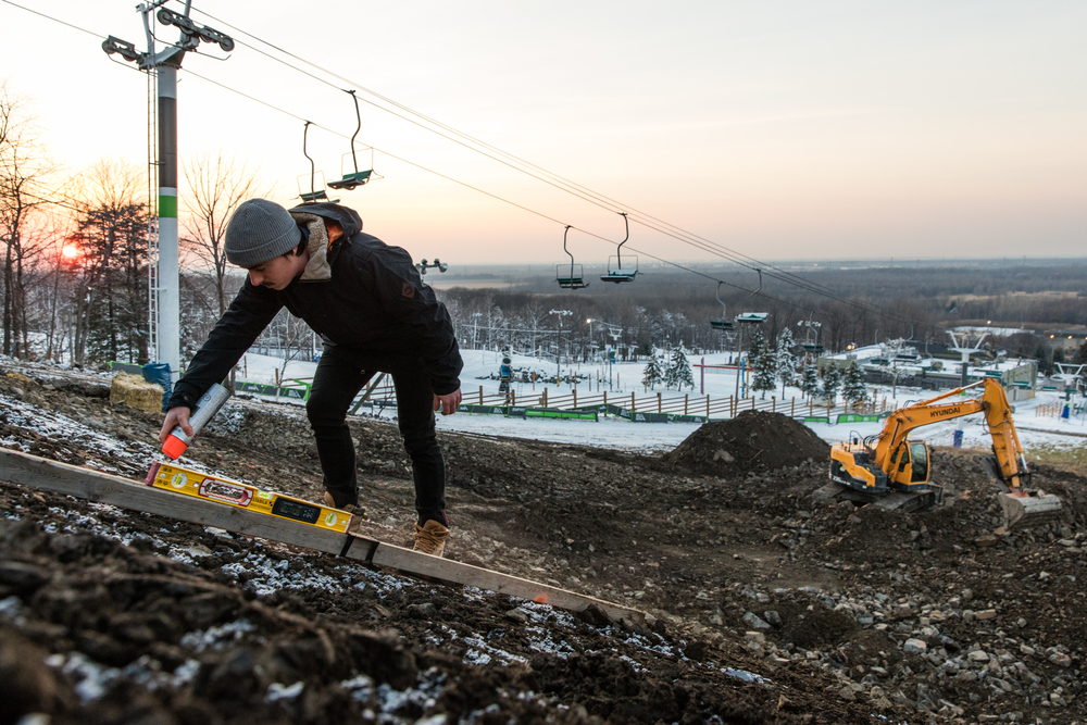Analyse terrain - Ski Saint-Bruno