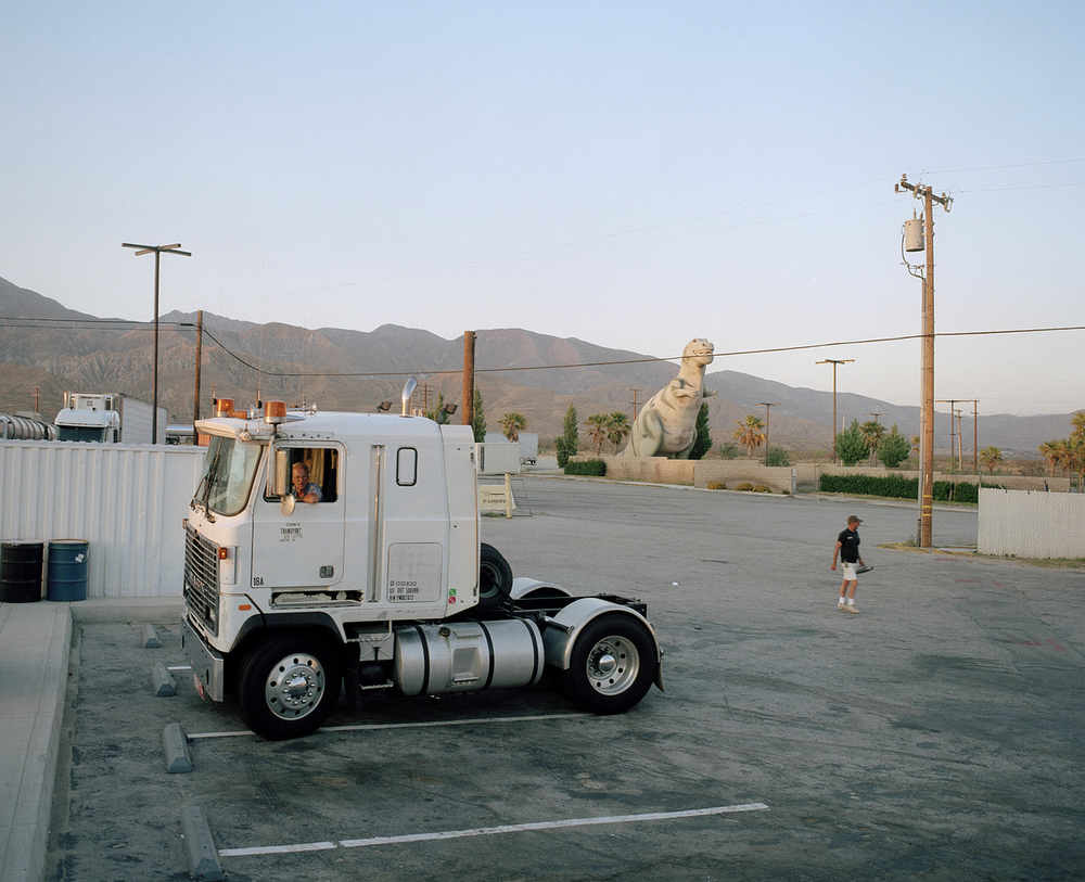 Gas station, Gabazon, California....