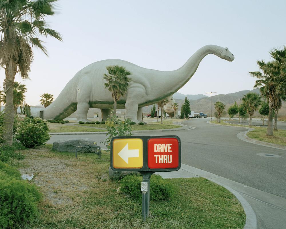 Drive-thru, Gabazon, California....