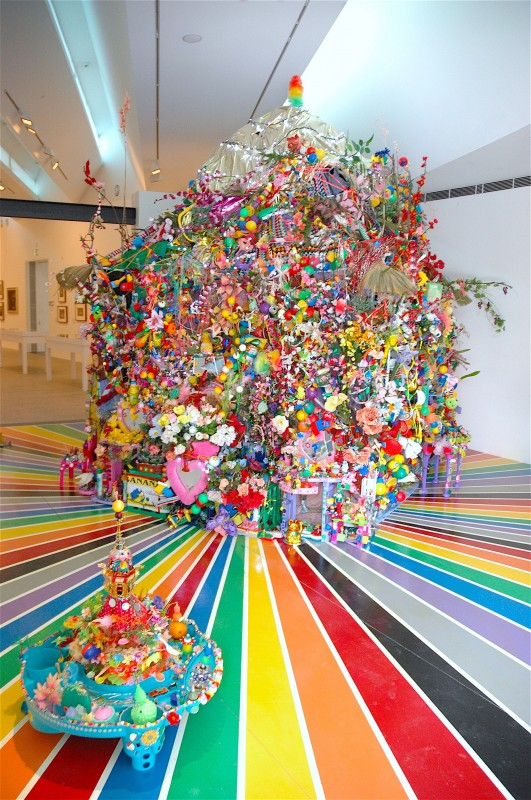 Paul Yore,  The Big Rainbow Funhouse Of Cosmic Brutality, 2009, Heide Museum of Modern Art