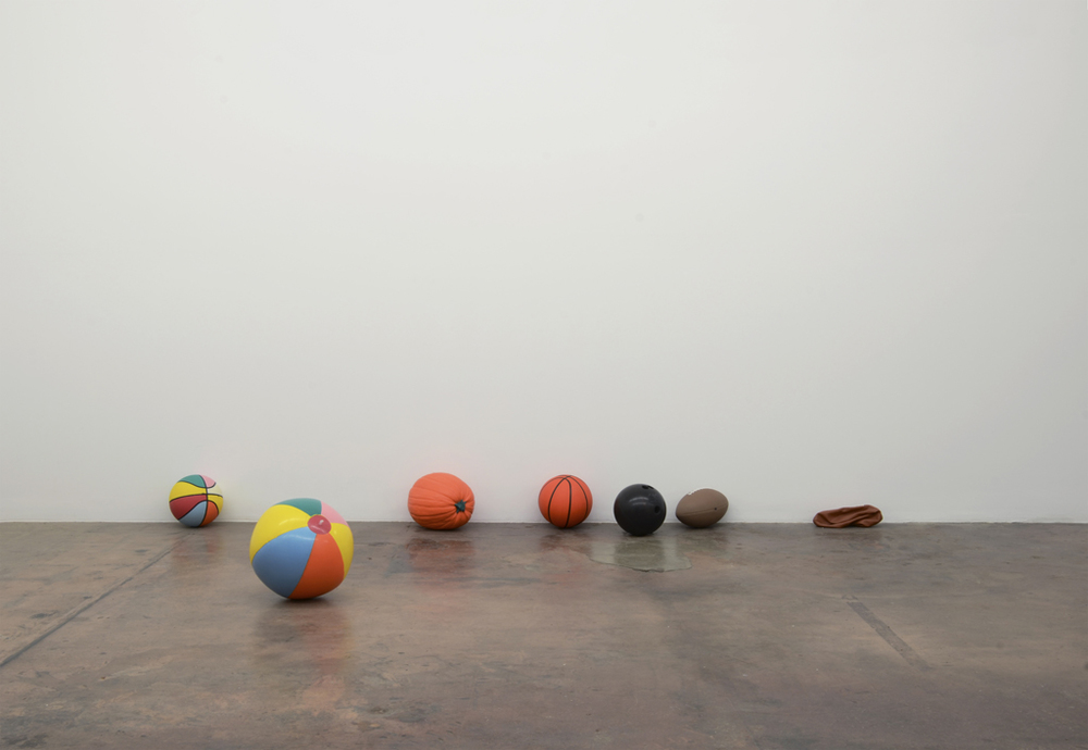 Paul Adair Circle Jerks, 2012. Dimensions variable, cast pigmented polyurethane resin. Courtesy of the Artist.