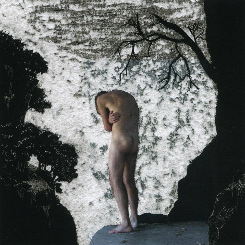 Henri van Noordenburg, Composition XXVIII, 2013, Ink on Paper, Hand Carved, 17.50 x 17.50 cm (Framed)