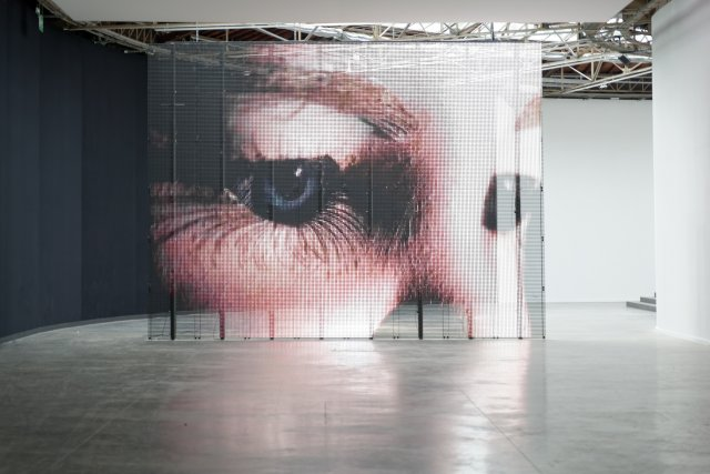 Philippe Parreno, The Writer, 2007. Installation view at Palais de Tokyo. Photograph courtesy of Palais de Tokyo