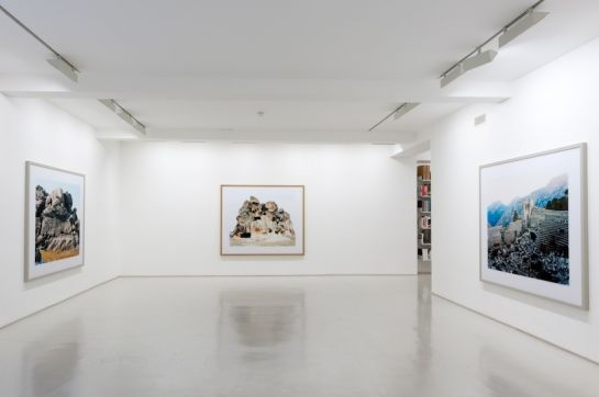 Domingo Milella installation view  at Brancolini Grimaldi