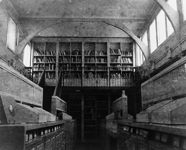 Jane Brown, 'Decommissioned Art History Library, University of Melbourne' 2012- 2013, fibre-based gelatin silver print, 44 x 49.5 cm