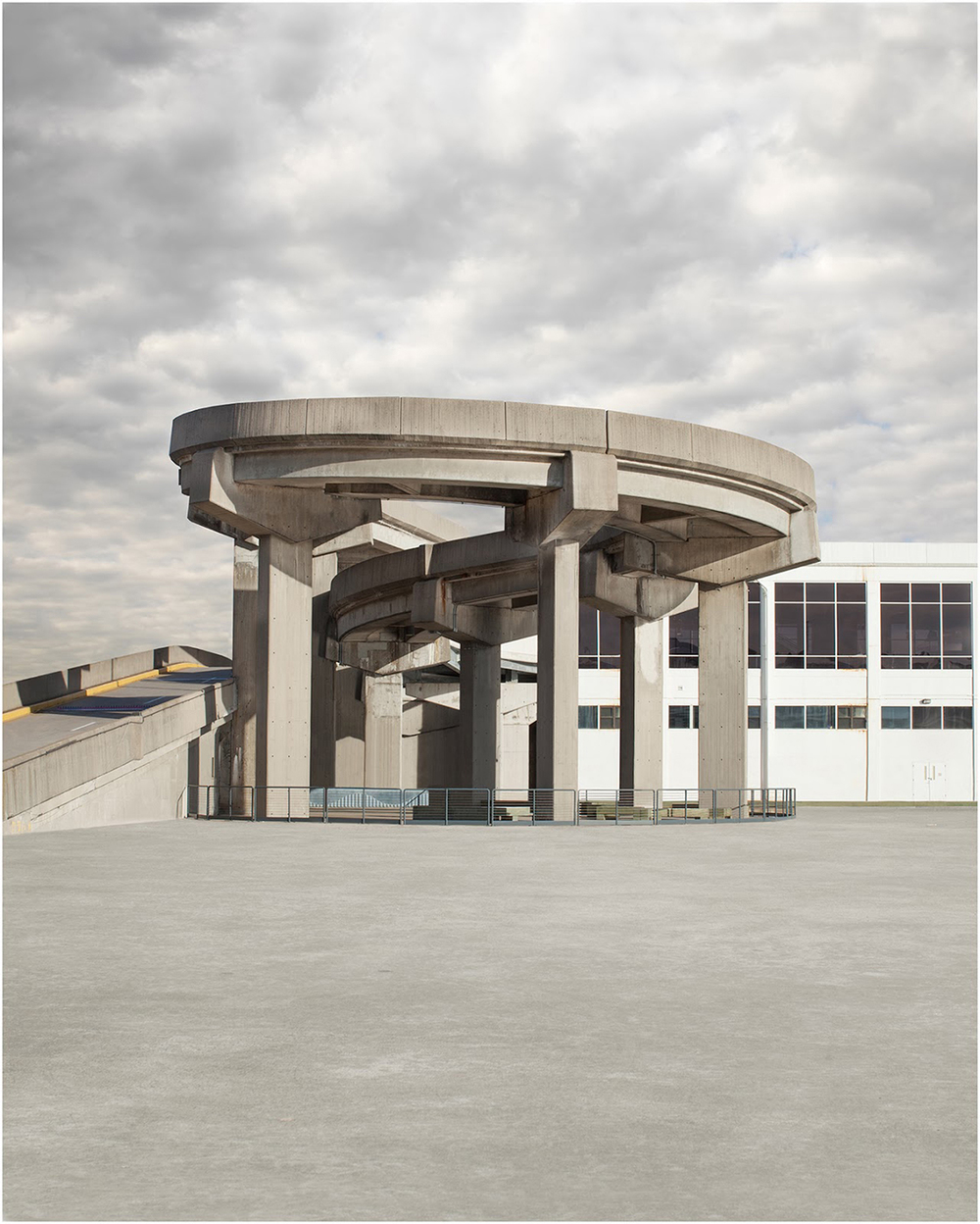 David Manley, Spiral Cement Structure, 2014