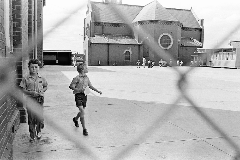 David Wadelton, Primary School, Northcote, 1977