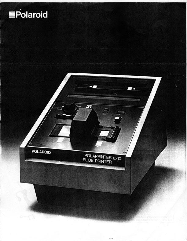 polaroid 8x10 polaprinter model 3580 instructions greg brophy