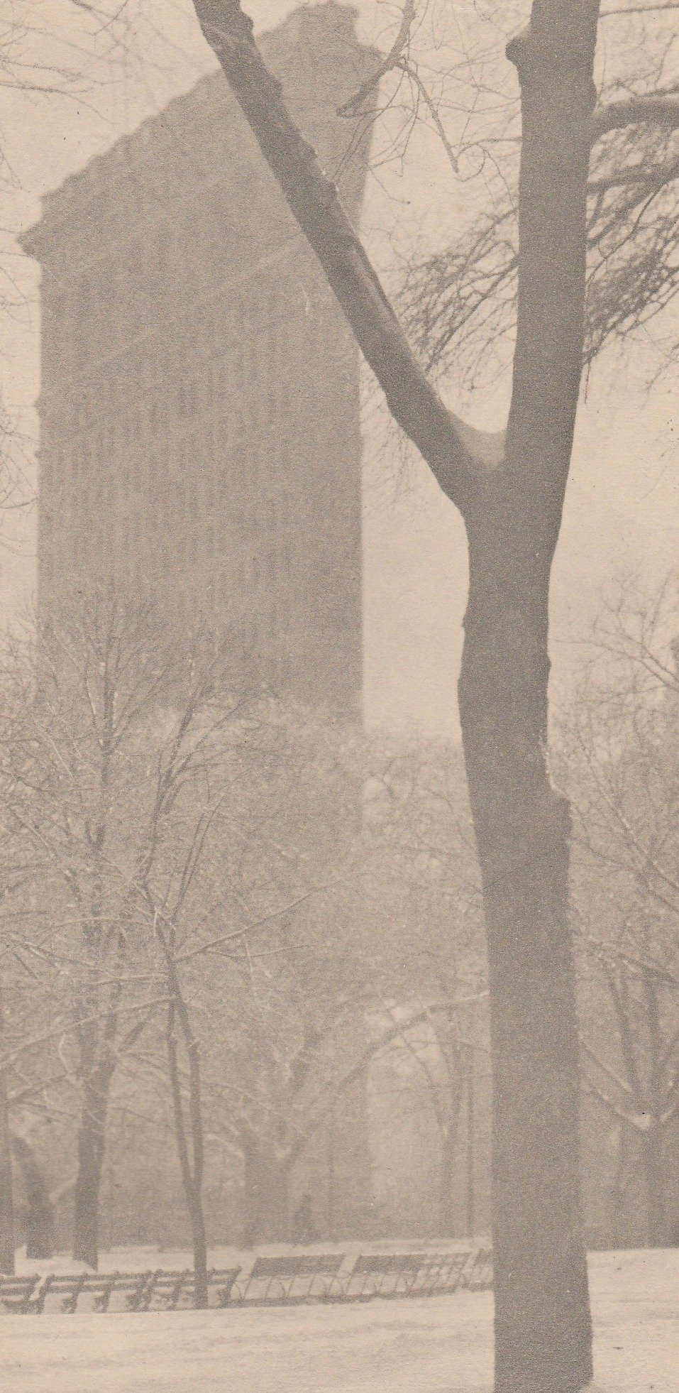 Alfred Stieglitz - The Flat Iron