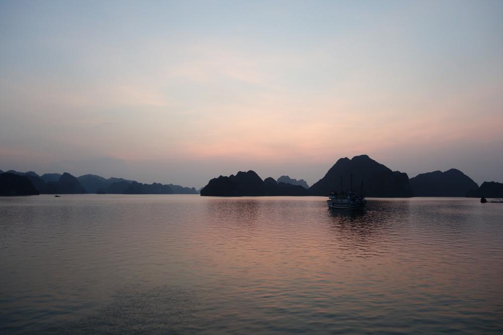 evening view / 夕景