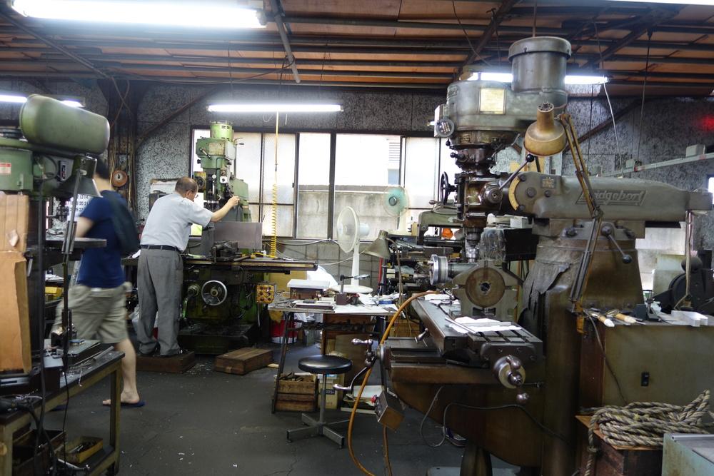 factory visit / 工場見学