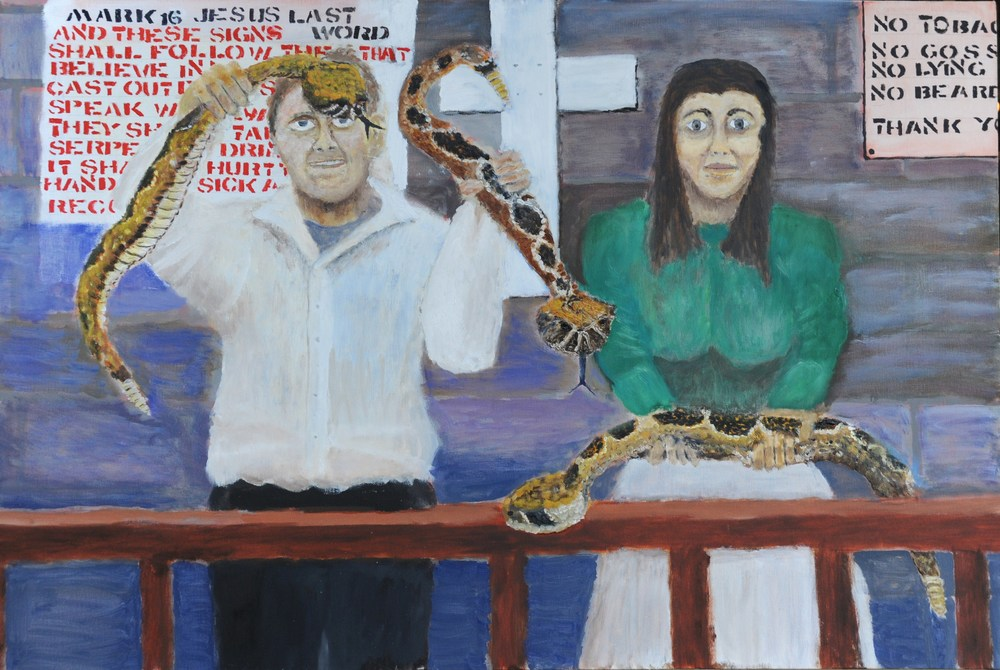 American Gothic with Snakes