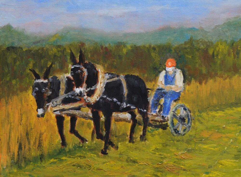 Mowing Hay 1969
