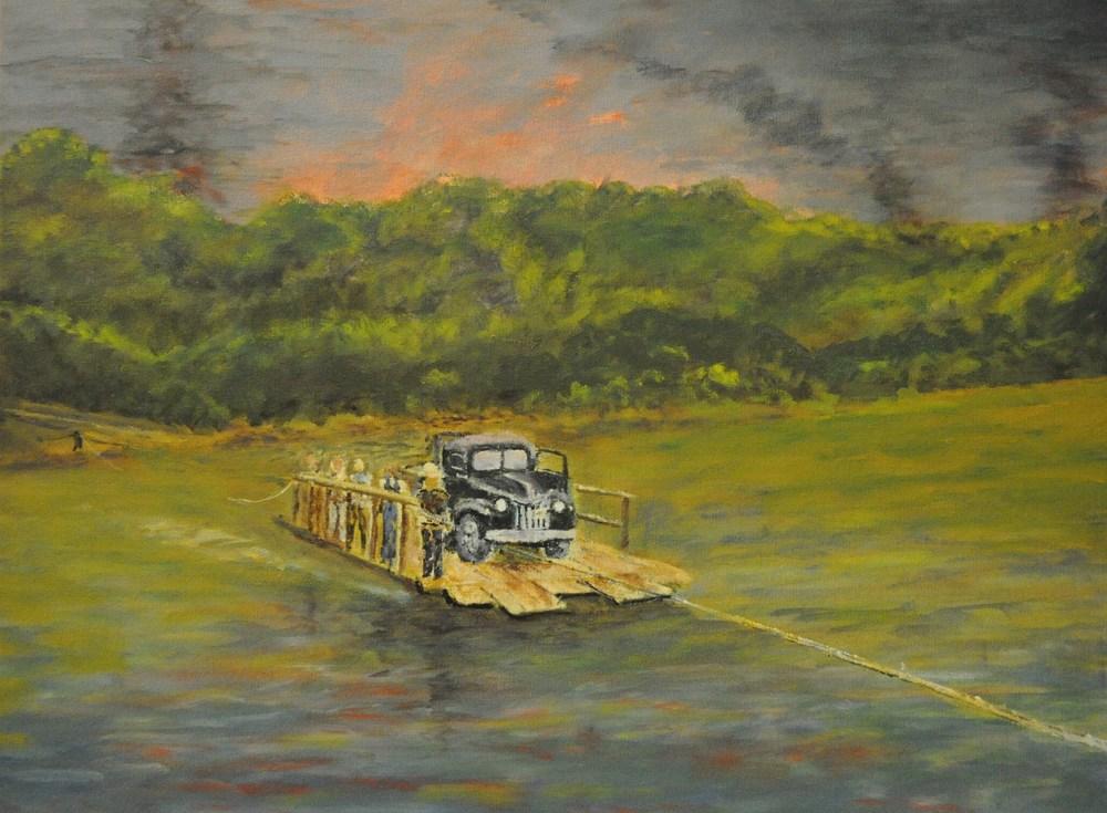 Gallaher Ferry Oak ridge, TN, 1943