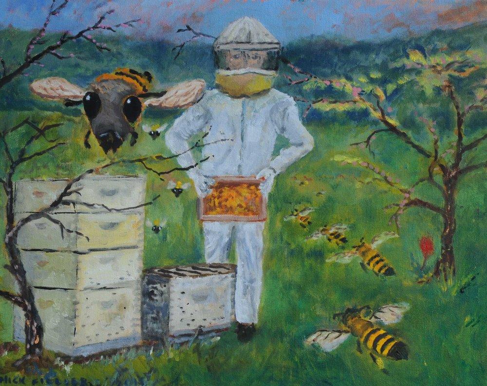 Robert and His Bees