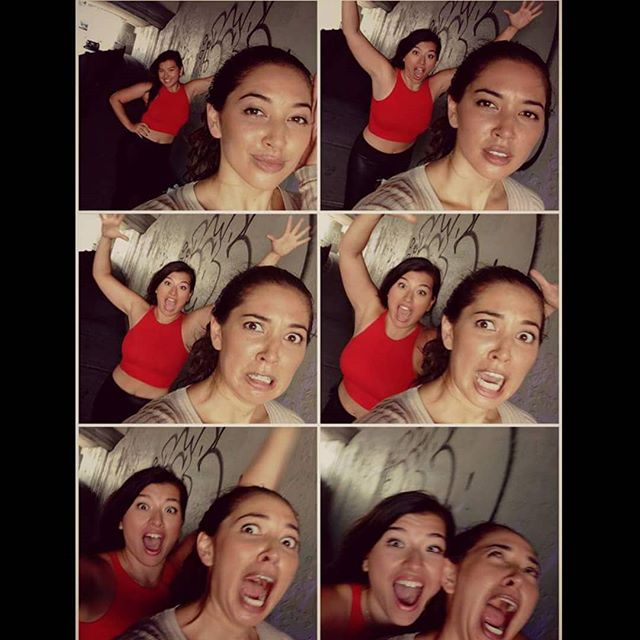 If you have crazy friends, you have everything 🤪 . . . . . #friendshipgoals #bestfriends #tb #tbt #thursdaymotivation #nyc #eurasian #hapa #pretty #crazy #beautiful #silly #queen  #positivevibesonly #models #actors #film #filmmaker #filmmaking #stuntlife #director #writer #sisters #sistersquad #singapore #vancouver #reppin #hi #iloveyou