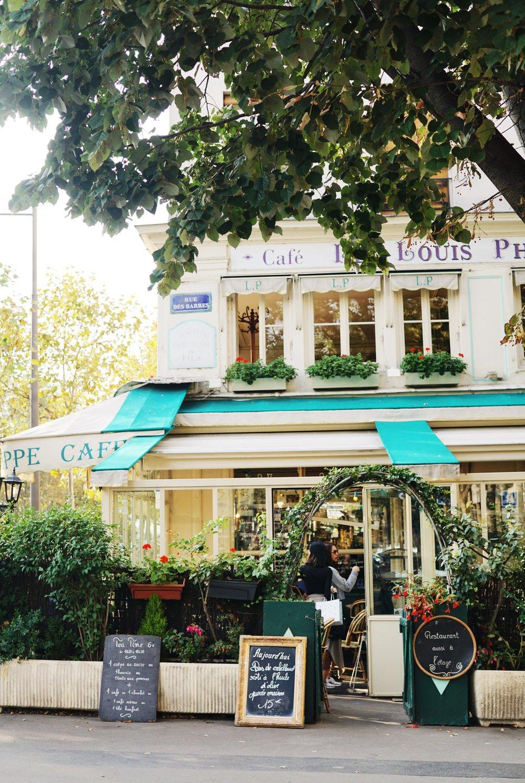 La Seine paris blog review cafe