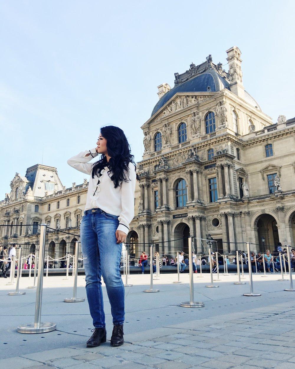 Louvre paris blog travel