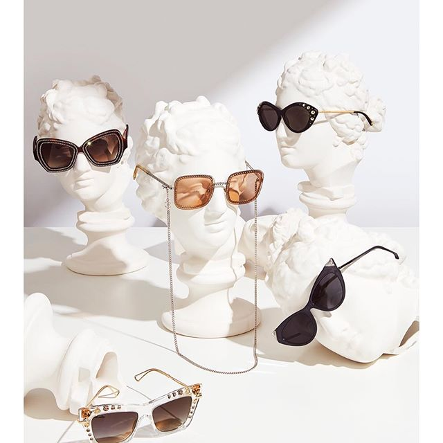 Suns Out // well maybe not but my 🕶 story is out today in @graziauk | styling: Sophie Henderson | retouching: @theforge.co #stilllife #sunglasses #graziauk #fashion #katrinalawsonjohnston