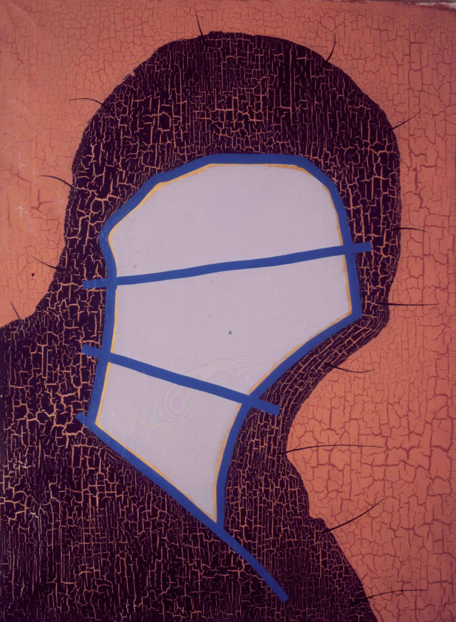 V.F. 1989. 190 x 140. Canvas, acrylic, oil.