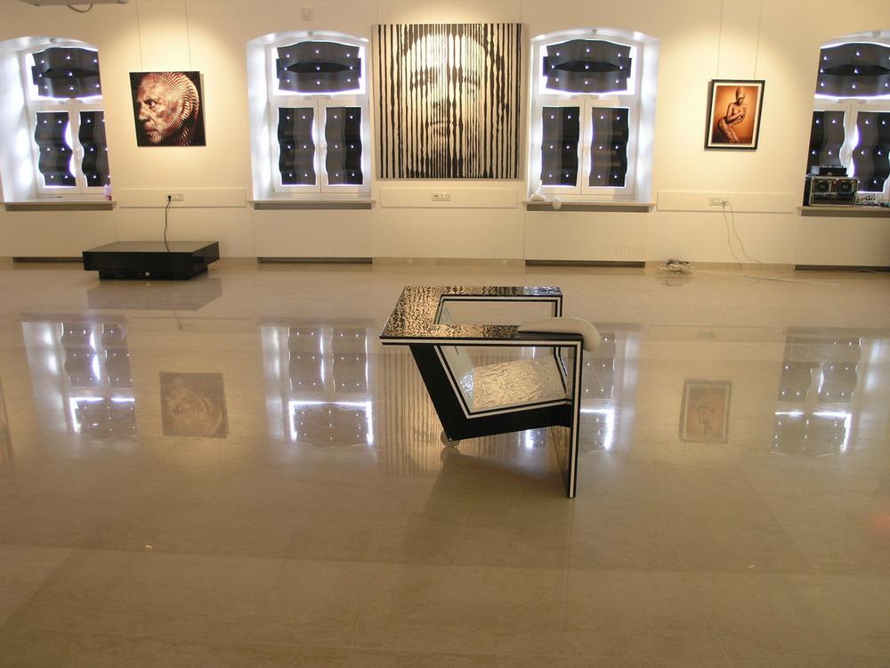 2008 г. — Французско-российский проект (галерея «Эритаж», Москва)