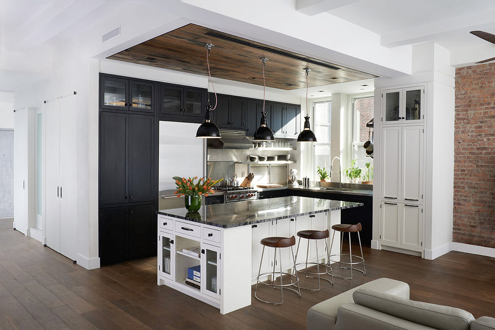 Ammor Architecture did such a beautiful job on this loft in Gramercy, didn't they? I totally want to live there. Photo courtesy Ammor Architecture LLPandAlison Gootee(photographer).
