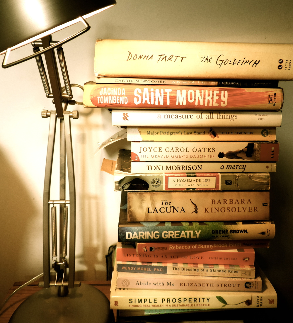 Susan Yeley Interiors: The Current In-progress Stack On My Nightstand. Do Not Let