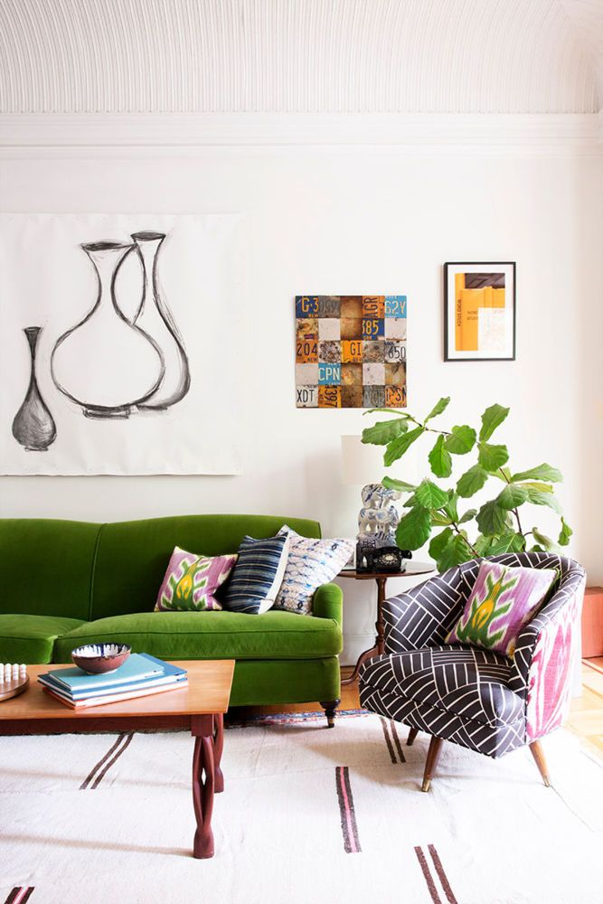Time for A GREEN Sofa Susan Yeley Interiors