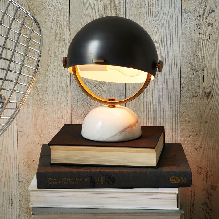 (cute) Task. (Clint Mini Task Lamp, West Elm)