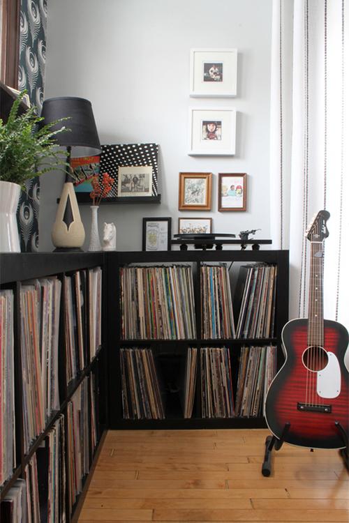 Records. (Alison and Jeff Allen of Deuce Cities Henhouse)