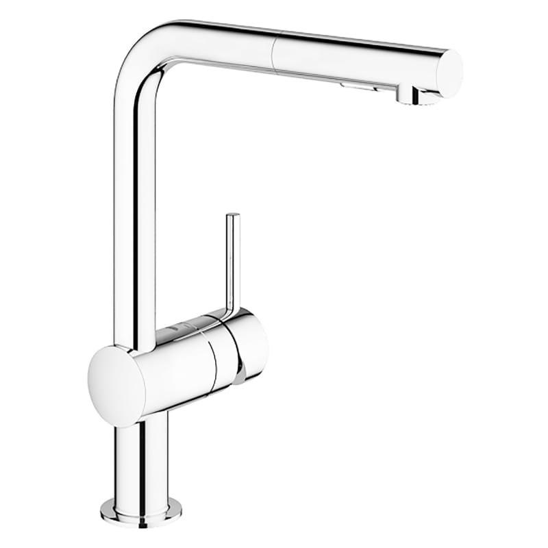 Minta Kitchen Faucet, StarLight Chrome Finish