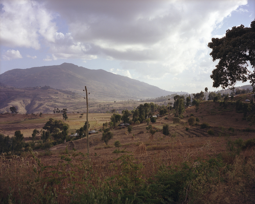 A view of the Ethiopian countryside