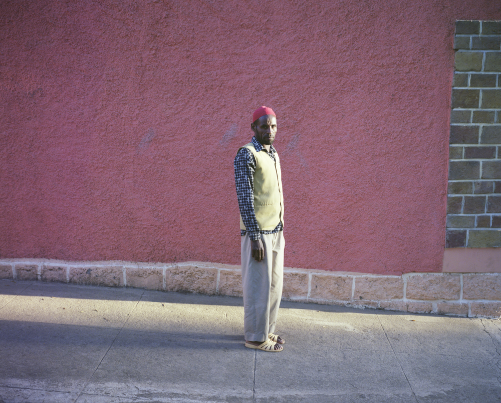 Abajaman, Munir's guard   From the Series,  Recent Photographs from Addis Ababa