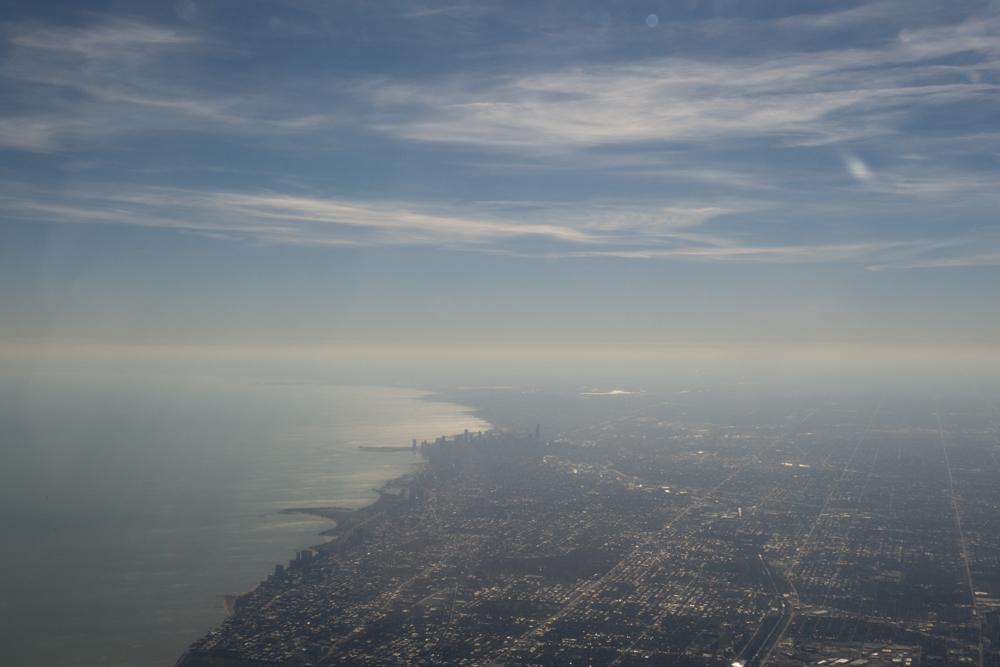 Peace Chicago (obligitory plane pic)