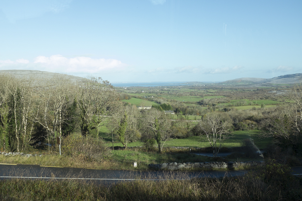 View back towards Ballyvaughn.