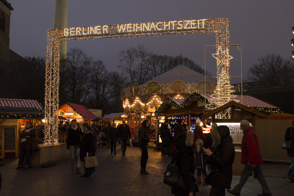 This is one of the main markets to find, though they are literally everywhere. Every neighborhood has one - every part of town. Festive lot those Berliners.