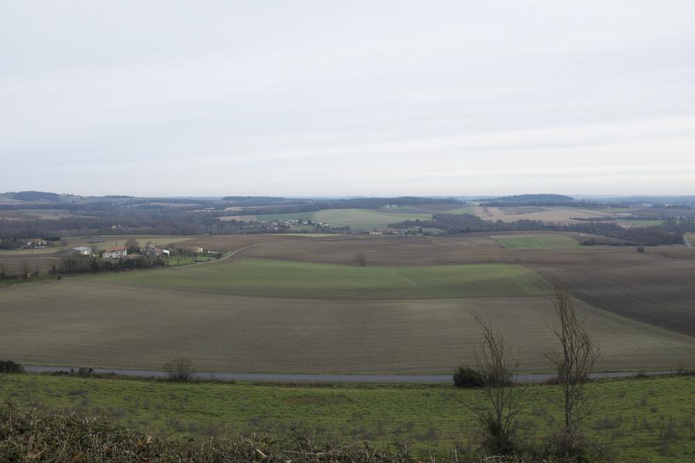 French farmland.