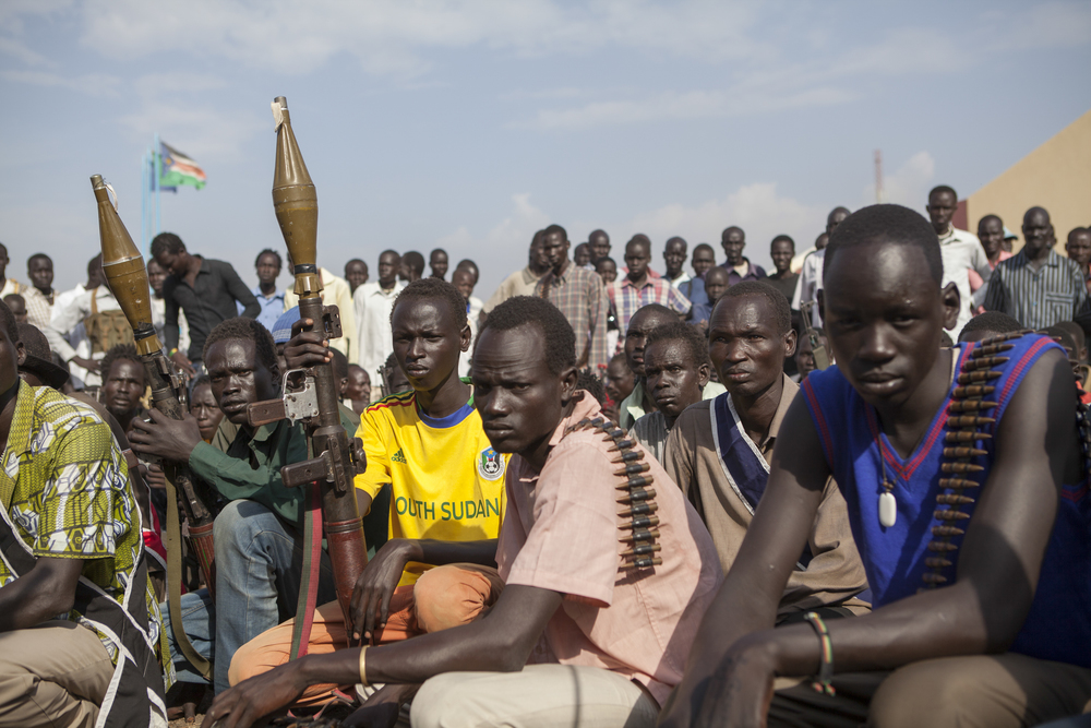 The following images are made during a trip to the rebel camp in Nasir, South Sudan.